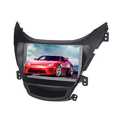 billige Bil Elektronikk-9 tommers android 8,0 4 GB 32 GB GPS navigator berøringsskjerm bil multimedia dvd-spiller for Hyundai Elantra 2012-2014