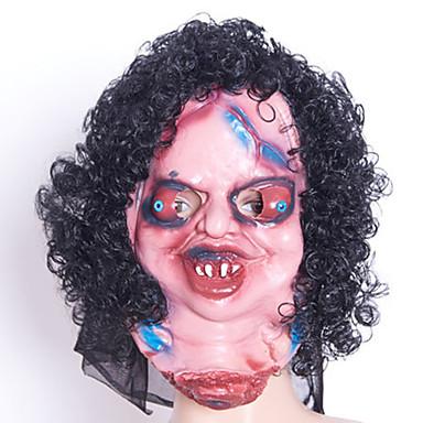 Halloweenmaskar Skämtpryl Gummi Skräcktema Vuxna