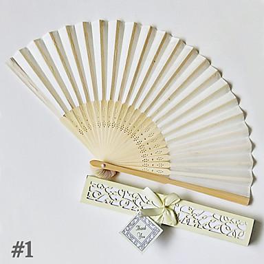 povoljno Svadbeni poklončići-4pcs bambus složive ruke obožavatelja vjenčanje pogoduje vjenčani pribor duljine 22cm