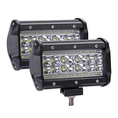 povoljno Krovna rasvjeta-2pcs Integrirano LED svjetlo Automobil Žarulje 280 W LED Svjetlo za rad Za Univerzális Sve godine