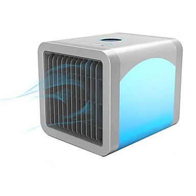 preiswerte Hausbedarf-USB Mini tragbare Klimaanlage Luftreiniger Desktop-Lüfter