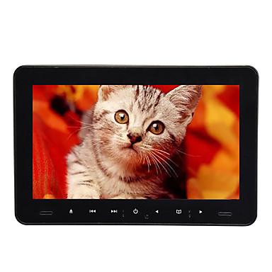 levne Auto Elektronika-9 palců 1 din android 8,0 vedl opěrky hlavy DVD přehrávač hry / sd / usb podpora / fm vysílač pro univerzální podporu hdmi avi / mpg / dat mp3 / wma / cd jpeg