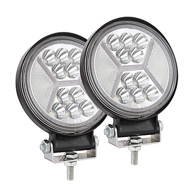 32 68 4inch 117w Round Shape Car Led Working Light Modified Truck Headlights Off Road Lights Package2pcs