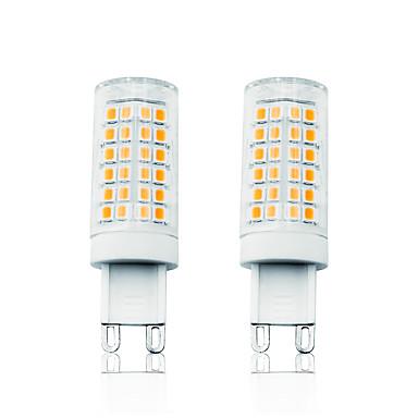Loende 2 pcs 7 w led luzes de milho led luzes bi-pin 800 lm g9 t 78 led contas smd 2835 dimmable branco quente branco 110-130 v 200-240 v