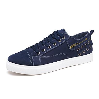 Homens Solas Claras Jeans Outono / Outono & inverno LED / Casual Tênis Caminhada Não escorregar Preto / Azul / Cinzento / Ao ar livre