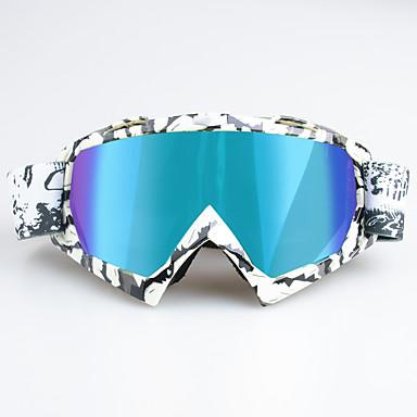 billige Motorsykkel & ATV tilbehør-unike motorsykkel langrennsbriller sykling briller for ski utendørs sports ramme colorzebra ramme - flerfarget linse