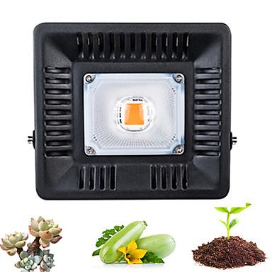 1conjunto 50 W 500 lm 1 Contas LED Espectro Completo Para Estufa Hidropônica Luminária crescente 220 V 110 V Estufa Vegetal