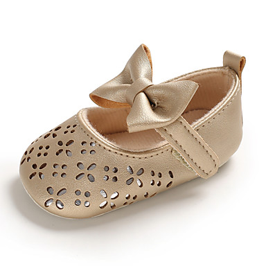 cheap For ages 0-9 mos.-Girls' First Walkers PU Flats Infants(0-9m) / Toddler(9m-4ys) Gold Spring / Summer