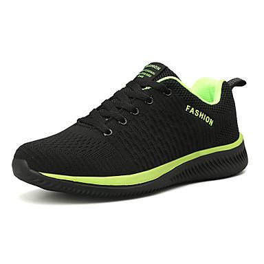 preiswerte Schuhe und Taschen-Herrn Komfort Schuhe Tissage Volant Sommer / Herbst Winter Sport / Freizeit Sportschuhe Atmungsaktiv Einfarbig Schwarz / Grün / Wein / Rutschfest