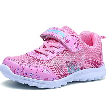 preiswerte Schuhe für Kinder-Mädchen Komfort Gitter Sportschuhe Kleine Kinder (4-7 Jahre) Purpur / Rosa Sommer