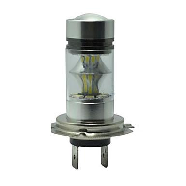 H7 50 w 20 conduziu a condução de luz de nevoeiro luz do carro cabeça lâmpada lâmpadas de alta potência gelo azul luz drl lâmpadas