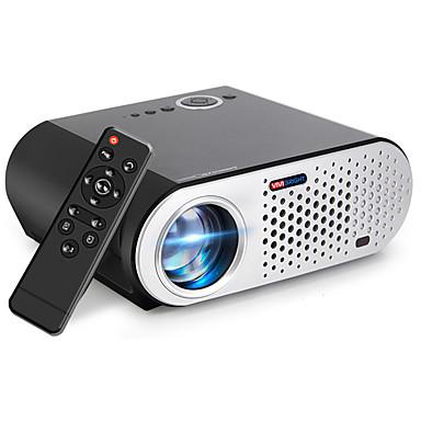 preiswerte Audio & Video für Ihr Zuhause-LCD LED Projektor 3200 lm Unterstützung 4K 35-280 Zoll / WXGA (1280x800) / ±15°