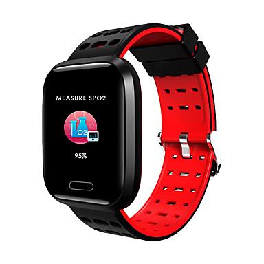 Indear A8 Homens mulheres Pulseira inteligente Android iOS Bluetooth Impermeável Tela de toque Monitor de Batimento Cardíaco Medição de Pressão Sanguínea Esportivo Temporizador Podômetro Aviso de