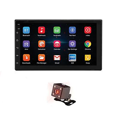levne Auto Elektronika-7 '' android 8.1 double 2 din 16g quad core gps auto stereo mp5 přehrávač fm zadní kamera