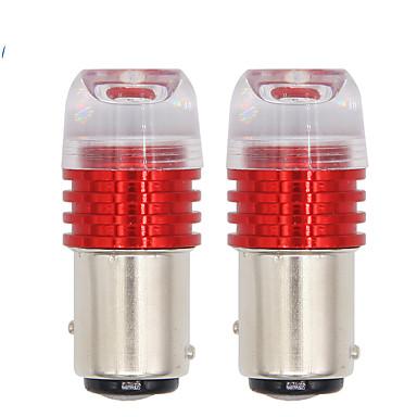 cheap Automotive-10pcs/lot auto 1157 led BAY15D P21/5W strobe flash light brake blink light Lamp Bulb DC12 red white Auto Tail Stop Light