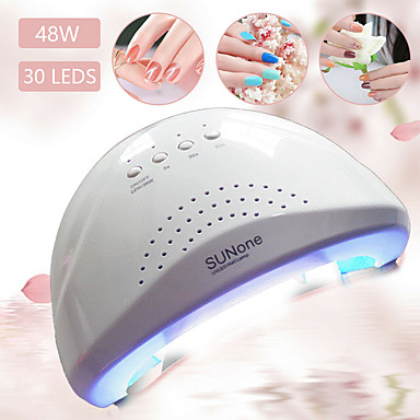 cheap Nail Care & Polish-SUN UVLED Nail Lamp 48 W For 12 V Nail Art Tool Daily Best Quality / fast dry