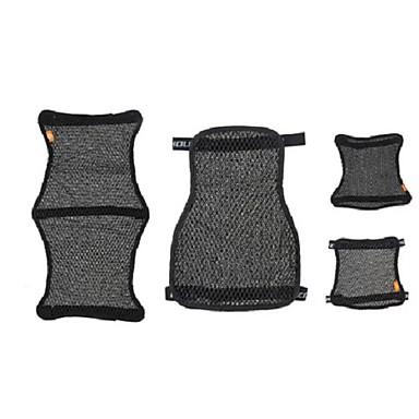billige Interiørtilbehør til bilen-3d honeycomb universal motorsykkel kult setetrekk nettpute pustende pute