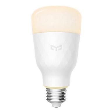 Xiaomi yeelight yldp05yl lâmpada led inteligente e27 800 lumens temperatura de cor ajustável para mi casa app inteligente luz 100-240 v