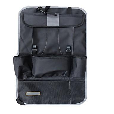 levne Organizéry do auta-luxusní kožená sluneční clona stínění cd dvd držák taška kapsy černá