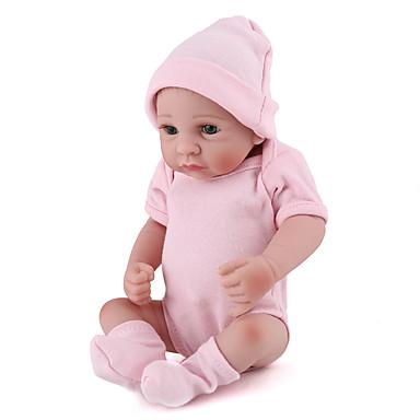 preiswerte Puppen-NPK DOLL Lebensechte Puppe Wiedergeborene Kleinkind-Puppe Baby Mädchen 16 Zoll Sicherheit Geschenk Niedlich Kinder Unisex Spielzeuge Geschenk