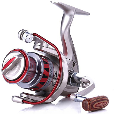 Molinetes de Pesca Molinetes Rotativos 4.7/1 Relação de Engrenagem+11 Rolamentos Orientação da mão Trocável Isco de Arremesso