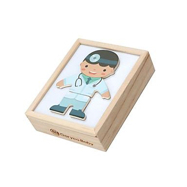 preiswerte Holzpuzzle-Holzpuzzle Kreativ Einfache Exquisit Bequem Hölzern 1 pcs Kinder Alles Spielzeuge Geschenk