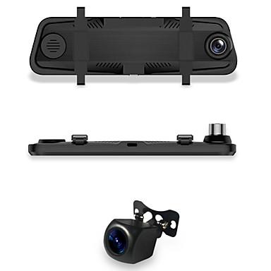 billige Bil Elektronikk-1296P HD Bil DVR 170 grader Bred vinkel 10 tommers Dash Cam med Night Vision / Loop-opptak / WDR Bilopptaker