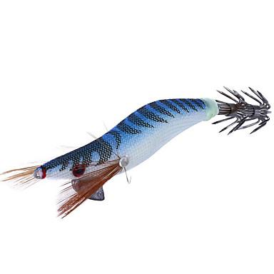4 pcs Fiskbete Hårt bete Självlysande Sjunker Bass Forell Gädda Sjöfiske Färskvatten Fiske Trä