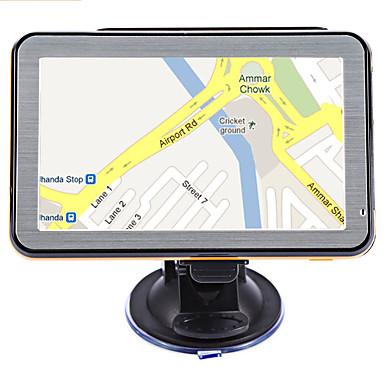 levne Auto Elektronika-5 palcová okna ce 6,0 auto gps navigátor dotyková obrazovka hlasové navádění ddr 256m 8gb