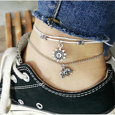 levne Dámské šperky-Dámské Tělové ozdoby 20 cm Řetízek kolem pasu Stříbrná Slitina Kostýmní šperky Pro Denní Letní