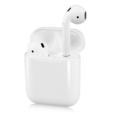 cheap Highly Recommended-Original New i12 TWS True Wireless Earbuds Bluetooth 5.0 Headphone Pop Up for iOS with Microphone Hands Free Touch Control Earphone