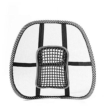 levne Doplňky do interiéru-autosedačka letní chlazení polštář bederní prodyšný polštář ventilace v pase podpora automobily kancelářská židle úleva bolesti zad