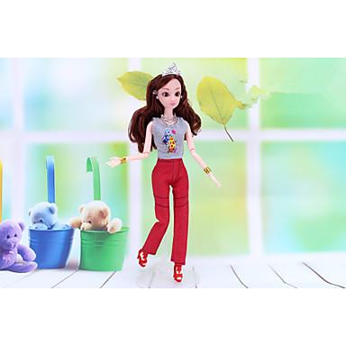 levne Doplňky pro panenky-Příslušenství pro panenky Šaty pro panenky Oblečení pro panenky Punčocháče Pro Barbie PU kůže Polyester Kalhoty Pro Dívka je Doll Toy