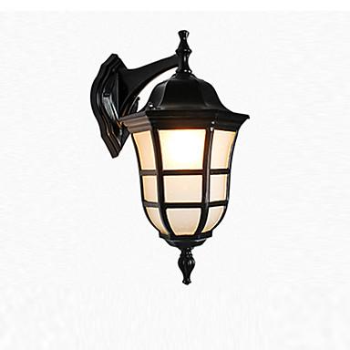 Impermeável Contemporâneo Moderno Lâmpadas de Parede de Exterior Ao ar Livre / Jardim Metal Luz de parede IP 65 110-120V / 220-240V