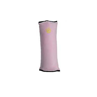 billige Interiørtilbehør til bilen-babybarnesikkerhetsrem bilbelte seteputer hodestøtte& midje pute sett rødmer rosa / blå / grå bomull / wistiti vanlig for universal alle år