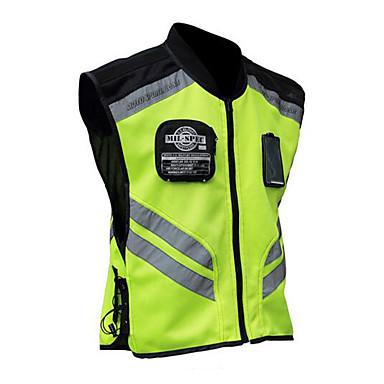 povoljno Motori i quadovi-vožnja motociklom reflektirajući prsluk uniformna fluorescentna sigurnosna jakna