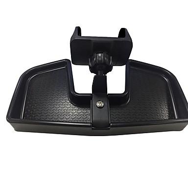 billige Interiørtilbehør til bilen-bil mobiltelefon holder abs mobiltelefon stativ bilmonteringsbrakett for jeep renegade 2015 16 2017 - svart