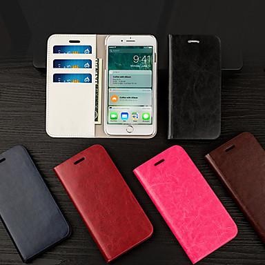 povoljno iPhone maske-Musubo flip kartica držač od kože kožna jakna za iPhone iphone 7 plus / iphone 8 plus / iphone xs / iphone x / iphone 6 / 6s / iphone xr / iphone xs max kućište cijelog tijela za iphone 5 / 5s / se /