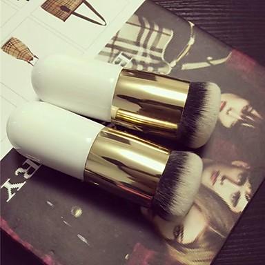 preiswerte andere Bürsten-Professional Makeup Bürsten 1 Stück Weich vollständige Bedeckung Bequem Nerz Haarbürste / Künstliches Haar Metall / Plastik zum Make-up Pinsel Lidschatten Pinsel