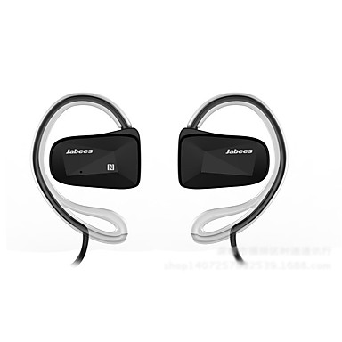 jabees bsport com fio fone de ouvido intra-auricular sem fio earbud bluetooth estéreo 4.0