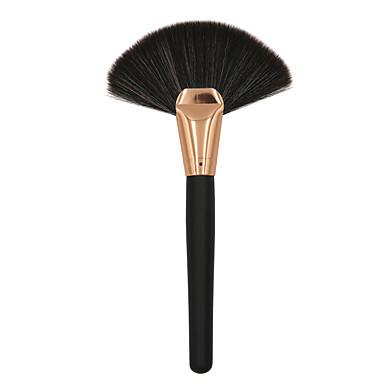 preiswerte erröten Bürsten-Professional Makeup Bürsten 1pc Weich Neues Design lieblich Künstliches Haar Hölzern zum Rougepinsel