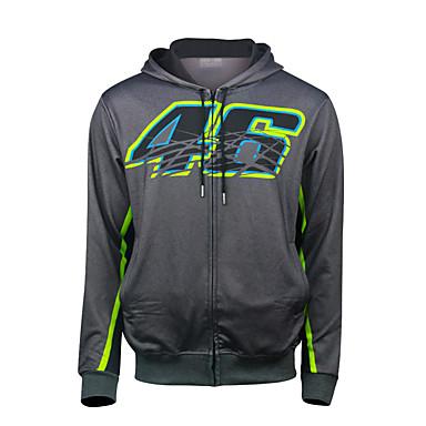 povoljno Motori i quadovi-motogp vr46 rosie motociklističko trkačko odijelo runo topla casual jakna za motocikl biciklistički oklopni vjetrootporni materijal od vjetra i tekstila (xxl xl l m s)