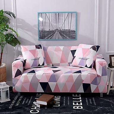 tampa do sofá rosa alces impressos slipcovers de poliéster