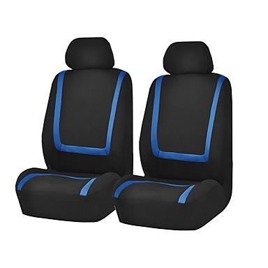 billige Interiørtilbehør til bilen-universal bilsete deksel polyester stoff sete deksel sete beskytter interiør tilbehør 4stk