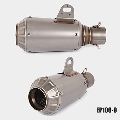 preiswerte Auspuffanlagen-51mm universal motorrad auspuffrohr edelstahl auspuffschalldämpfer kohlefaser auspuffrohr modelsep106-2