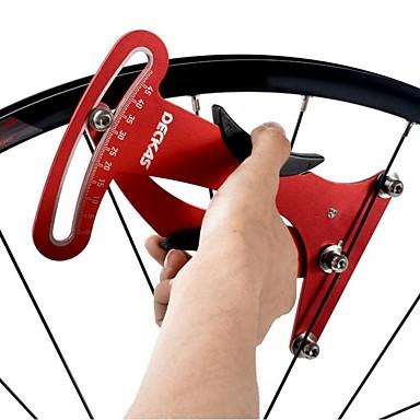 billige Sykkeltilbehør-Justerbare Bærbar Holdbar Til Vei Sykkel Fjellsykkel Fritidssykling Sykling Chrome Rustfritt stål Rød
