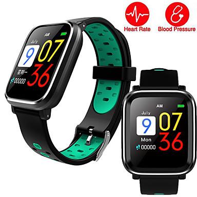q58 smart watch pulseira pulseira rastreador de fitness relógios de freqüência cardíaca pulseira de esportes de saúde para homens masculino feminino banda