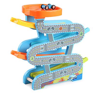 Carrinhos com Pista Ramp Racer Carro de Corrida Simples Legal De madeira Crianças Todos Brinquedos Dom
