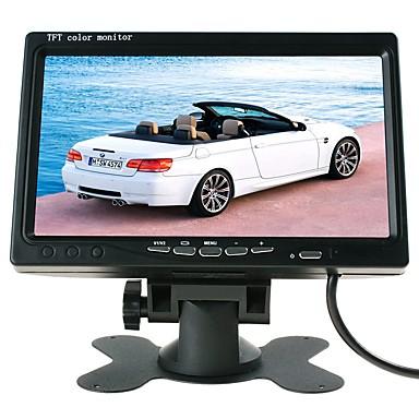 levne Auto Elektronika-ziqiao 7 palců tft lcd auto displej parkovací systém auto zadní pohled monitor pro auto / autobus / kamion hk rozhraní