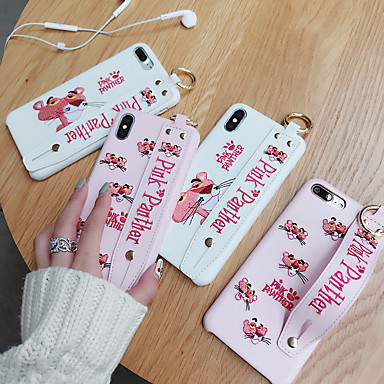 povoljno iPhone maske-Θήκη Za Apple iPhone XS / iPhone XR / iPhone XS Max Ultra tanko / Uzorak Stražnja maska Crtani film PU koža / TPU
